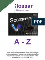 Glossar Scan Service a-Z