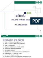 Itil and Iso