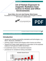 Assessment of Human Exposure to Electromagnetic Radiation From Wireless Devices in Home and Office Environments