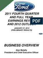 Ir 20120127a 2011 4q Financial Results