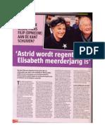 Politiek België schuift prins Filip (opnieuw) aan de kant
