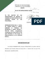 Memorandum Chief Justice Functions Feb13P326