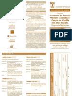 Triptico Antonio Machado Profesores
