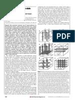 Alexander Grigorenko et al- A one-dimensional chain state of vortex matter