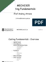 Casting Fundamentals