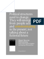 Rushkoff - Open Source Democracy