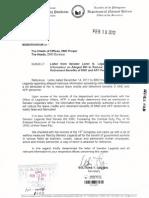 DND-OPA - Memorandum - Legarda - 13 February 2012