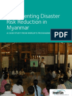 DRR Case Study Burma
