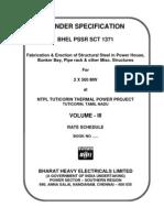 Sct1371 Rate Schedule Vol III