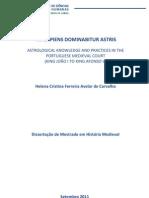 Vir Sapiens Dominabitur Astris - Helena Avelar de Carvalho