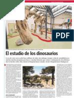 El estudio de los dinosaurios