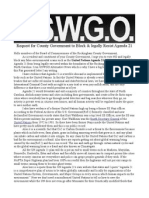 USWGO Urges the Rockingham County Government to Reject Agenda 21 Redacted for Online Viewing