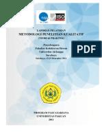 COVER Metodoli Penelitian