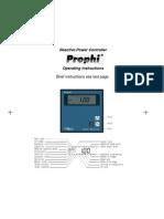 User Manual -Prohi- En