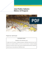 Poultry Industry; History & Prospects