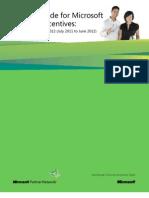 Incentives Partner Guide
