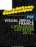 Visual Impact France Tarif Location 2012v2