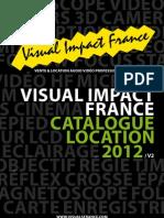 Visual Impact France Tarif Location 2012v2