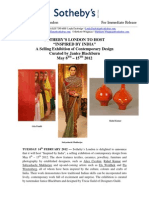 """Sotheby'S London To Host """"Inspired By India"""""""