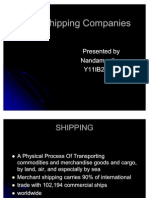 World Shipping Companies