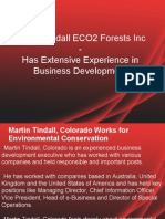 Martin Tindall ECO2 Forests Inc