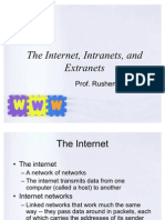 The Internet, Intranets And Extranets