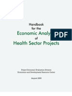 Economic Analysis Health Projects