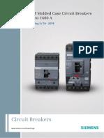 Disjuntor 3VT - Manual