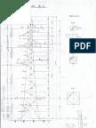Vue en élévation d'un pylône 90KV