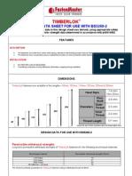 Timberlok Data Sheet