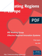 Innovating Regions in Europe