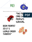 11-Page Torpedo Against New World Order Fascism