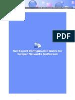 Net Report Configuration Guide for Netscreen