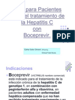 Guía para Pacientes Boceprevir