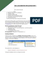 Java Desktop Apps P1