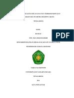 Pengaruh Motivasi Dan Disiplin Terhadap Produktivitas Kerja Pegawai Negri Sipil Sipil Pada Dinas Perhubungan Kabupaten Kutai Kartanegara