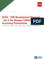 Acca-sim Development - Joman_0