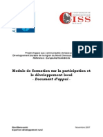 Guide de formation sur la participation et le développement Local