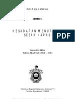 Modul Mahasiswa Emergency Dan Troumatology 2012