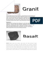 Granit Adalah Batuan Beku Plutonik