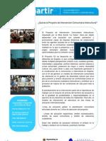 Intervencion Comunitaria Intercultural.Las Norias