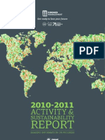 Euromed Management Activity and Sustainability Report 2010-2011