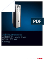 ACS880-01 Single Drives 3AUA0000098111 en REVD