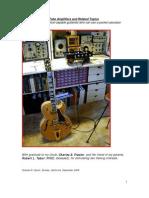 Designing v-T Amplifiers