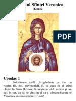 Acatist Sfanta Veronica