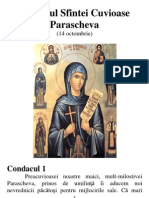 Acatistul Sfintei Cuvioase Parascheva