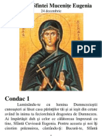 Acatistul Sfintei Mucenite Eugenia