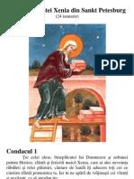 Acatistul Sfintei Xenia Din Sankt Petesburg