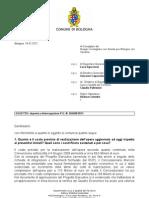 Risposta interrogazione PGn  266400 2011
