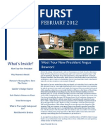Furst Magazine Lent Term 2012